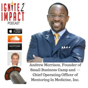 Andrew Morrison: Inspiring Aspiring Doctors & Science Professionals Ep. 7