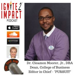 Dr. Cleamon Moorer Teaches People to Be MORE Ep. 12