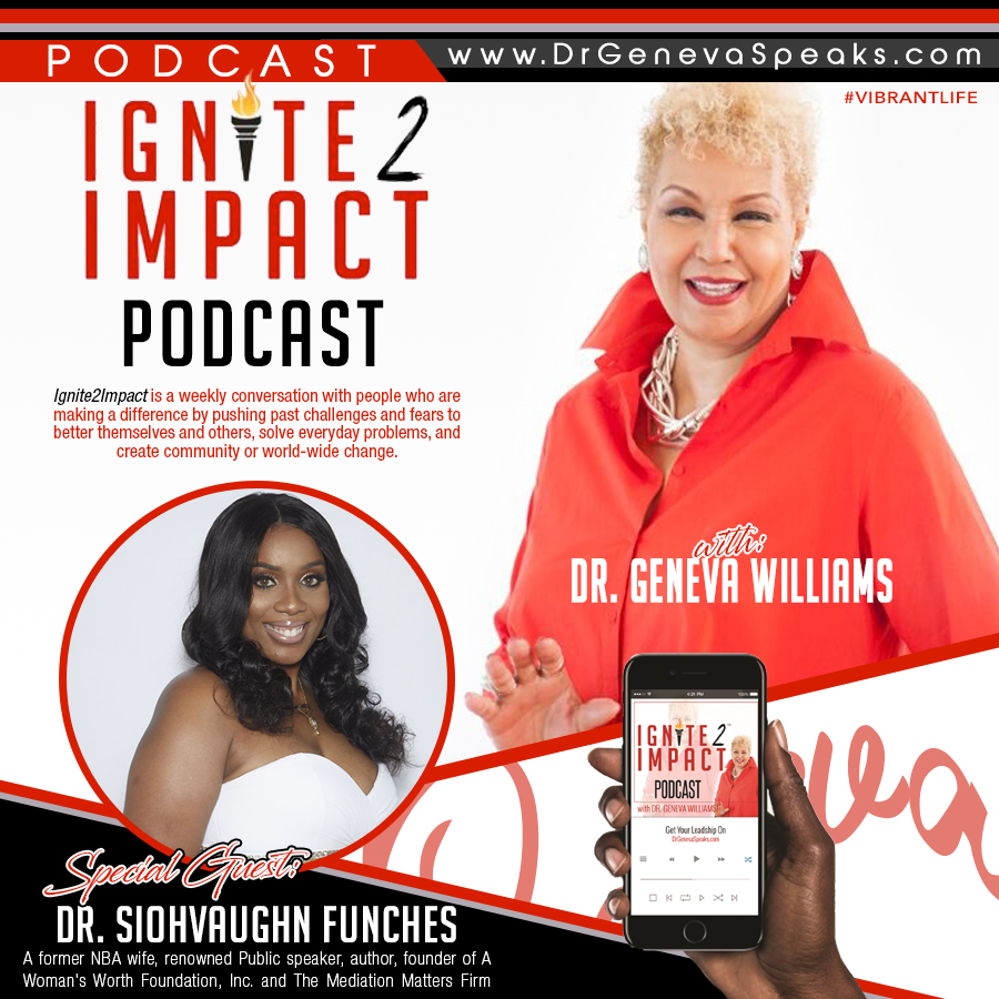 Dr  Siohvaughn L  Funches: The WOW Foundation on a Mission